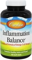 Carlson Labs - Inflammation Balance With Norwegian Fish Oil - 90 Softgels