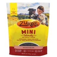 Mini Naturals Dog Treats Przepis na łososia - 6oz.