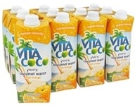 Vita Coco - Coconut Water 100% Pure 500 ml. Orange - 17 oz.