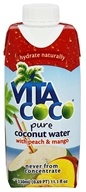 Vita Coco - Coconut Water 330 ml. Peach & Mango - 11.1 oz., from category: Health Foods