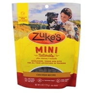 Zuke's - Mini Naturals Dog Treats Roasted Chicken Formula - 6 oz. - $4.35