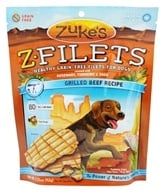 Zuke's - Z-Filets Dog Treats Grilled Beef Strips - 3.25 oz. (formerly Prime Beef) by Zuke's