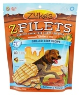 Zuke's - Z-Filets Dog Treats Grilled Beef Strips - 3.25 oz. (formerly Prime Beef)