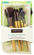 Eco Tools - Bamboo Brush Set - 6 Piece(s)