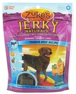 Zuke's - Jerky Naturals Dog Treats Tender Beef Recipe - 6 oz.
