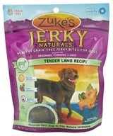 Zuke's - Jerky Naturals Dog Treats Tender Lamb Formula - 6 oz. by Zuke's
