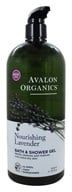 Image of Avalon Organics - Bath & Shower Gel Lavender - 32 oz.