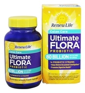 ReNew Life - Ultimate Flora Critical Colon BifidoMAX 80 Billion - 30 Vegetarian Capsules (631257156600)