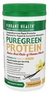 Vibrant Health - Pure Green Protein Powder Vanilla - 16.58 oz., from category: Nutritional Supplements