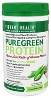 Vibrant Health - Pure Green Protein Powder Natural - 15.21 oz., from category: Nutritional Supplements
