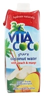 Image of Vita Coco - Coconut Water 500 ml. Peach & Mango - 17 oz.
