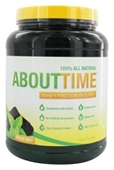 About Time - Whey Protein Isolate Mocha Mint - 2 lbs. (837654129388)