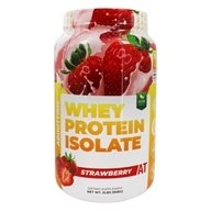 About Time - Whey Protein Isolate Strawberry - 2 lbs. (837654129357)