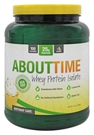 About Time - Whey Protein Isolate Birthday Cake - 2 lbs., from category: Sports Nutrition