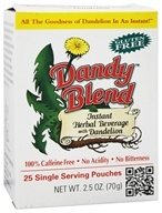 Dandy Blend - Instant Dandelion Beverage Single Servings - 25 Packet(s)