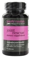 Peaceful Mountain - Joint Rescue Dietary Supplement - 30 Capsules (818692007258)