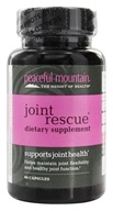 Peaceful Mountain - Joint Rescue Dietary Supplement - 30 Capsules - $20.69