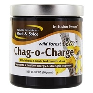 Image of North American Herb & Spice - In-Fusion Power Chag-O-Charge Wild Chaga Mushroom Health Drink Expresso - 3.2 oz.