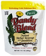 Dandy Blend - Instant Herbal Beverage with Dandelion - 14.1 oz.