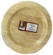 "Bamboo Studio - Bamboo Dinnerware Round Plate Reusable Disposable 11.5"" - 8 Pack"