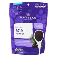 Navitas Naturals - Acai Powder Freeze-Dried Powder Certified Organic - 8 oz. (858847000376)