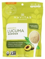 Image of Navitas Naturals - Lucuma Powder Certified Organic - 8 oz.