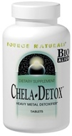 Image of Source Naturals - Chela-Detox - 30 Tablets