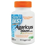 Doctor's Best - Best Agaricus blazei 400 mg. - 90 Vegetarian Capsules, from category: Nutritional Supplements