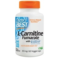 Doctor's Best - Best L-Carnitine Fumarate 855 mg. - 60 Vegetarian Capsules (753950001060)