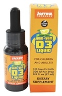 Jarrow Formulas - Yum-Yum D3 Liquid Lemon Flavor 200 IU - 0.9 oz. - $8.03