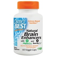 Doctor's Best - Natural Brain Enhancers featuring GPC & PS - 60 Vegetarian Capsules (753950002142)
