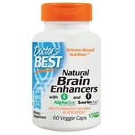 Doctor's Best - Natural Brain Enhancers featuring GPC & PS - 60 Vegetarian Capsules by Doctor's Best