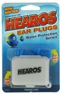 Hearos - Ear Plugs Reusable Water Protection Series - 1 Pair CLEARANCE PRICED