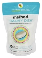 Method - Dishwasher Detergent Smarty Dishwashing Detergent Tabs Non-Toxic - 20 Tablets