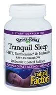 Image of Natural Factors - Stress-Relax Tranquil Sleep - 90 Softgels