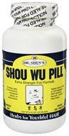 Image of Dr. Shen's - Shou Wu Pill Youthful Hair - 200 Tablets