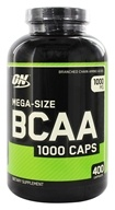 Nutrition optima - BCAA 1000 couvre la Méga-Taille 1000 mg. - 400 Capsules