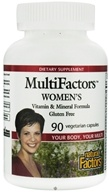 Natural Factors - MultiFactors Women's - 90 Vegetarian Capsules, from category: Nutritional Supplements