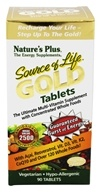 Nature's Plus - Source Of Life Gold Tablets Ultimate Multi-Vitamin with Concentrated Whole Foods - 90 Tablets
