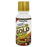 Nature's Plus - Source Of Life Gold Liquid Ultimate Multi-Vitamin Delicious Tropical Fruit Flavor - 8 oz. - $14.16