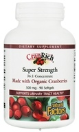 Image of Natural Factors - CranRich Super Strength 500 mg. - 90 Softgels CLEARANCE PRICED