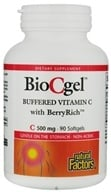 Natural Factors - BioCgel Buffered Vitamin C 500 mg. - 90 Softgels, from category: Vitamins & Minerals
