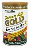 Image of Nature's Plus - Source Of Life Gold Energy Shake Ultimate Vitamin Mineral & Protein Natural Delicious Tropical Berry Flavor - 0.97 lbs.