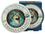Image of Badger - Every Day Body Moisturizer Vanilla Coconut - 2 oz.