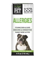King Bio - Natural Pet Allergies For Canines Large - 4 oz. by King Bio