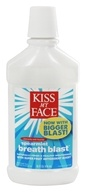 Kiss My Face - Breath Blast Mouthrinse Anticavity with Fluoride Spermint - 16 oz.
