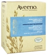 Aveeno - Active Naturals Soothing Bath Treatment 8 x 1.5 oz. Single Packets Fragrance Free (381370036401)