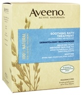 Image of Aveeno - Active Naturals Soothing Bath Treatment 8 x 1.5 oz. Single Packets Fragrance Free
