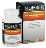 Nu Hair - Hair Regrowth For Men - 60 Tablets Formerly by Biotech Labs