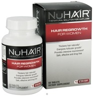 Image of Nu Hair - Hair Regrowth For Women - 60 Tablets Formerly by Biotech Labs